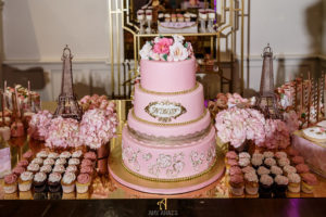 Sweet 16 New Jersey Social Event Maplewood Club JunePlumm Events Cake Sweets Table