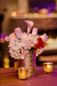Sweet 16 New Jersey Social Event Maplewood Club JunePlumm Events Centerpiece Flowers