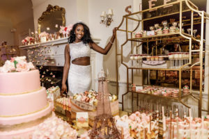 Sweet 16 New Jersey Social Event Maplewood Club JunePlumm Events Sweets Table